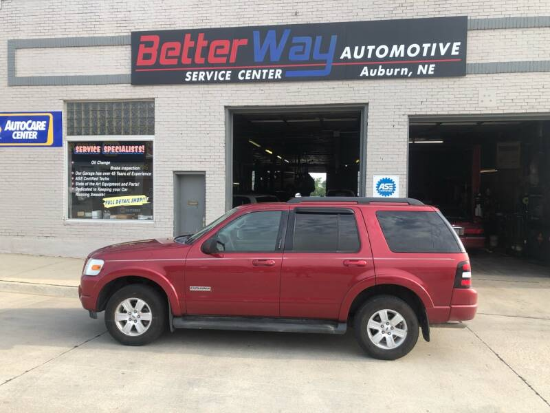 2008 Ford Explorer for sale at Betterway Automotive Inc in Plattsmouth NE
