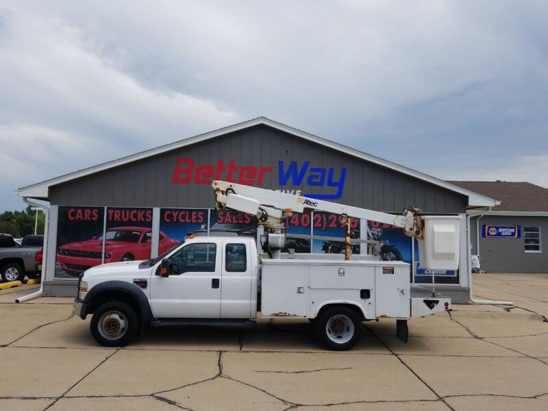 2008 Ford F-450 Super Duty for sale at Betterway Automotive Inc in Plattsmouth NE