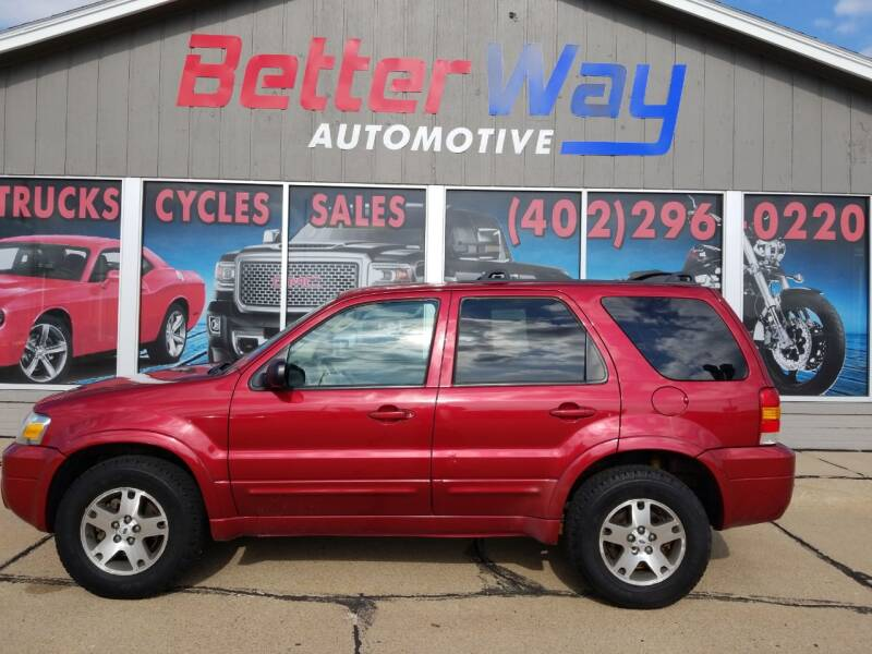 2005 Ford Escape for sale at Betterway Automotive Inc in Plattsmouth NE