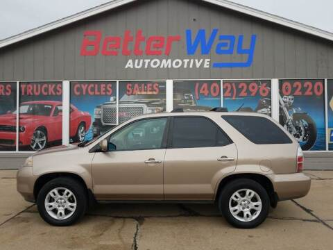 2004 Acura MDX for sale at Betterway Automotive Inc in Plattsmouth NE