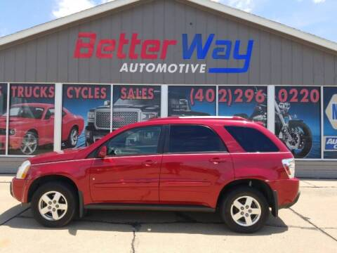 2006 Chevrolet Equinox for sale at Betterway Automotive Inc in Plattsmouth NE