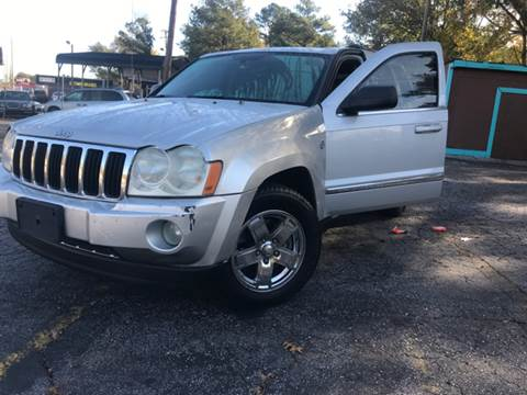 2006 Jeep Grand Cherokee for sale at Fast and Friendly Auto Sales LLC in Decatur GA