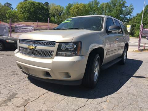 2010 Chevrolet Tahoe for sale at Fast and Friendly Auto Sales LLC in Decatur GA