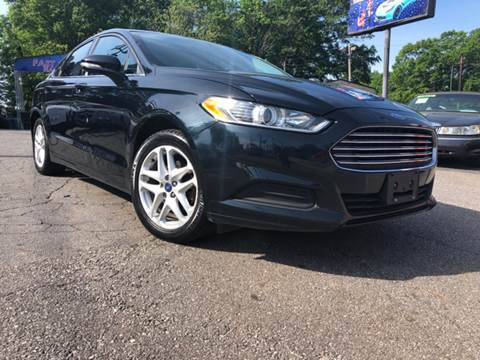 2014 Ford Fusion for sale at Fast and Friendly Auto Sales LLC in Decatur GA