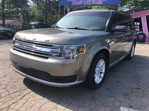 2014 Ford Flex for sale at Fast and Friendly Auto Sales LLC in Decatur GA