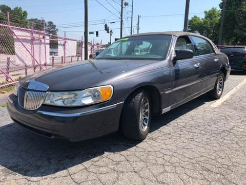 1999 Lincoln Town Car for sale at Fast and Friendly Auto Sales LLC in Decatur GA