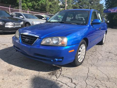 2004 Hyundai Elantra for sale at Fast and Friendly Auto Sales LLC in Decatur GA