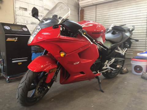 2016 Hyosung 250RGT for sale at Fast and Friendly Auto Sales LLC in Decatur GA