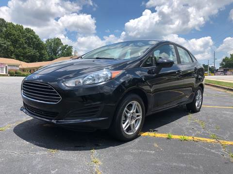 2017 Ford Fiesta for sale at Fast and Friendly Auto Sales LLC in Decatur GA
