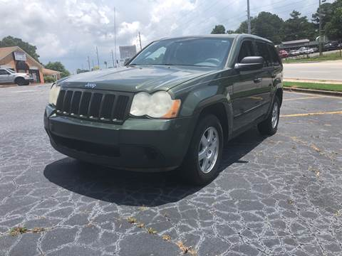 2008 Jeep Grand Cherokee for sale at Fast and Friendly Auto Sales LLC in Decatur GA