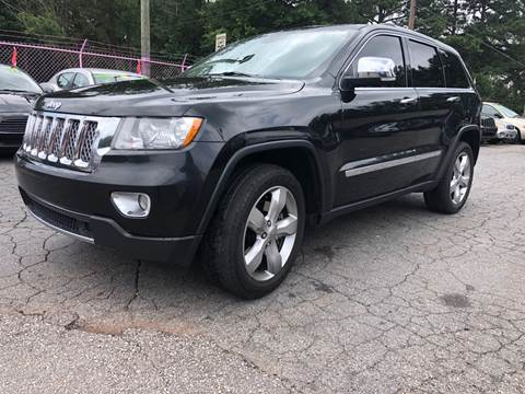 2012 Jeep Grand Cherokee for sale at Fast and Friendly Auto Sales LLC in Decatur GA