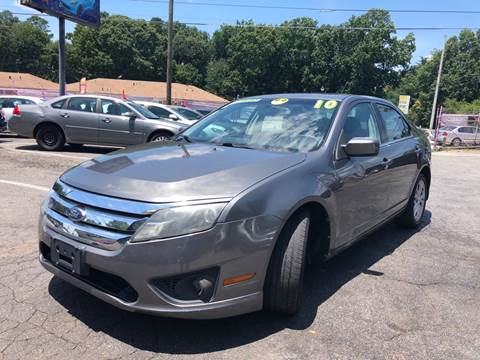 2010 Ford Fusion for sale at Fast and Friendly Auto Sales LLC in Decatur GA