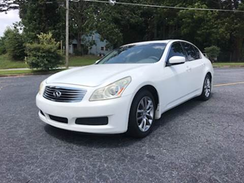 2009 Infiniti G37 Sedan for sale at Fast and Friendly Auto Sales LLC in Decatur GA