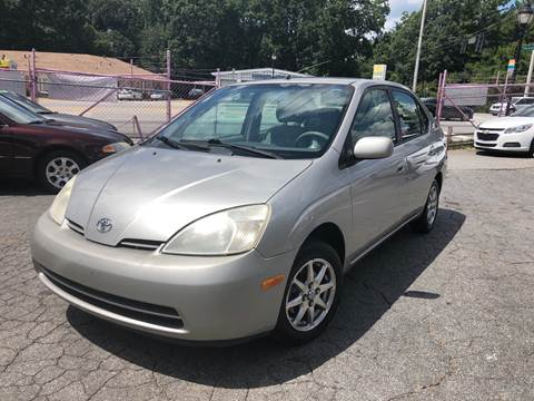 2001 Toyota Prius for sale at Fast and Friendly Auto Sales LLC in Decatur GA