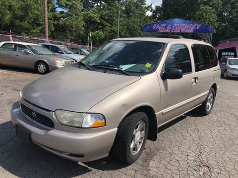 2000 Nissan Quest for sale at Fast and Friendly Auto Sales LLC in Decatur GA