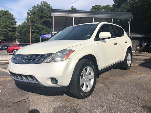 2006 Nissan Murano for sale at Fast and Friendly Auto Sales LLC in Decatur GA