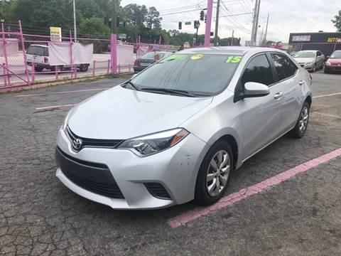 2015 Toyota Corolla for sale in Decatur, GA