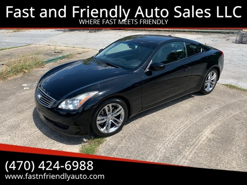 2009 Infiniti G37 Coupe for sale in Decatur, GA