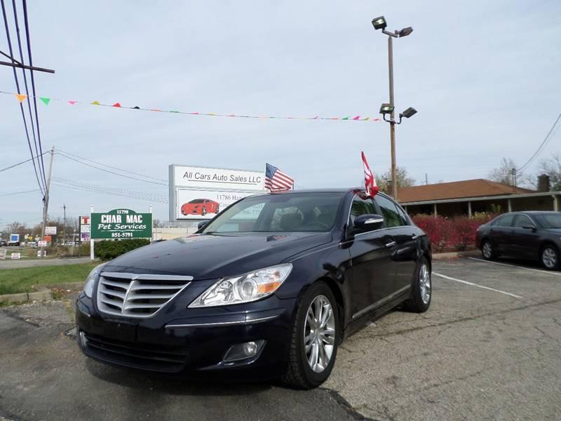 2009 Hyundai Genesis 4.6L V8 In Cincinnati OH - All Cars Auto ...