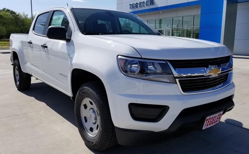 2018 Chevrolet Colorado In Sealy TX - Tegeler Chevrolet Inc