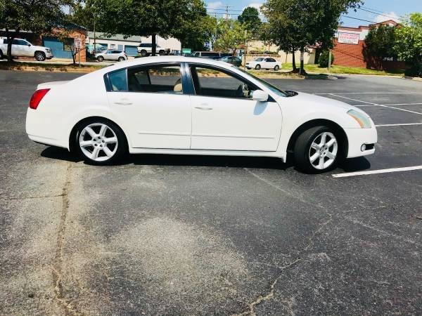 2004 Nissan Maxima 35 Se In Charlotte Nc Parks Auto Sales