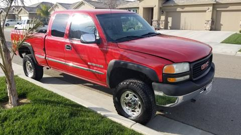 2002 GMC Sierra 2500HD for sale in Fowler, CA