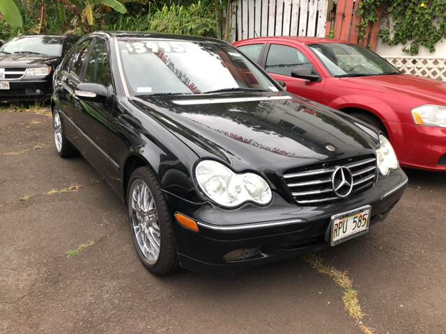 2002 Mercedes Benz C Class For Sale At PACIFIC ISLAND AUTO SALES In Wahiawa