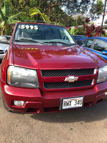 2006 Chevrolet TrailBlazer For Sale At PACIFIC ISLAND AUTO SALES In Wahiawa  HI
