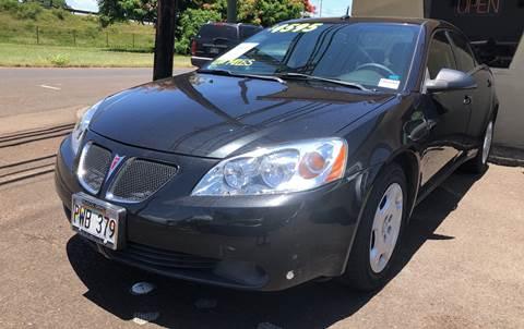 2008 Pontiac G6 for sale in Wahiawa, HI