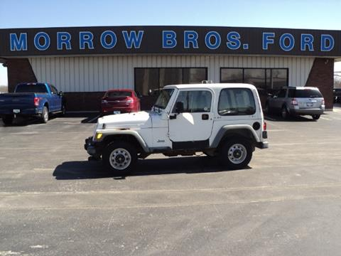 2001 Jeep Wrangler for sale in Greenfield, IL