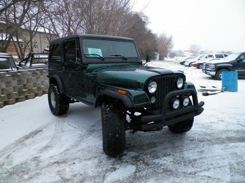 1983 Jeep CJ-7 for sale in Webster, SD