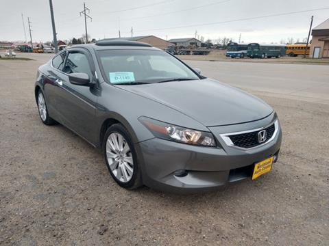 2010 Honda Accord for sale in Webster, SD
