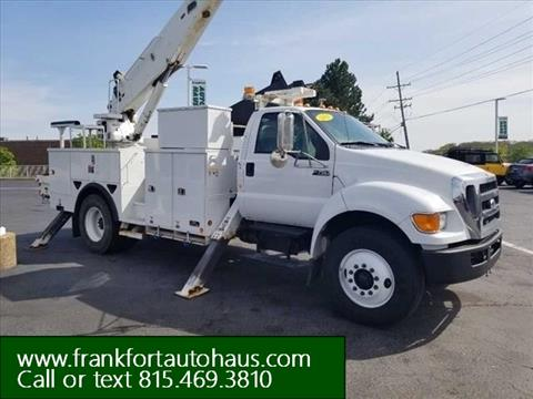 2011 Ford F-750 Super Duty for sale in Frankfort, IL