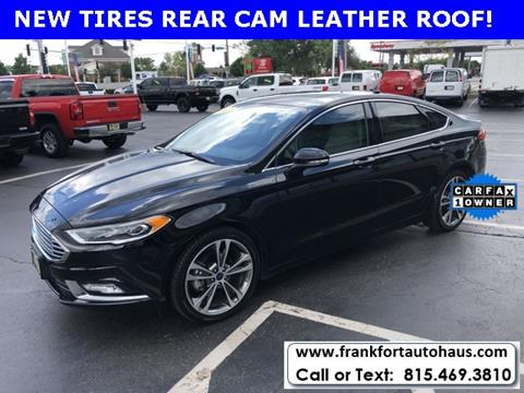 2017 Ford Fusion for sale in Frankfort, IL