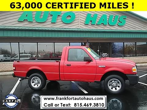 2010 Ford Ranger for sale in Frankfort, IL