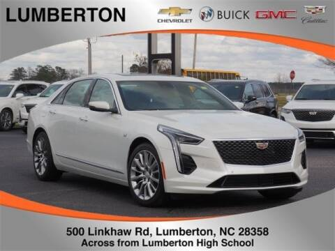2020 Cadillac CT6 3.6L Luxury for sale at Lumberton Chevrolet Buick GMC Cadillac in Lumberton NC