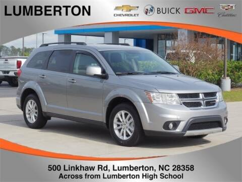 2016 Dodge Journey SXT for sale at Lumberton Chevrolet Buick GMC Cadillac in Lumberton NC