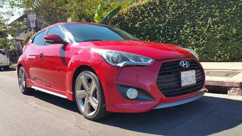 2013 Hyundai Veloster Turbo For Sale In Los Angeles Ca