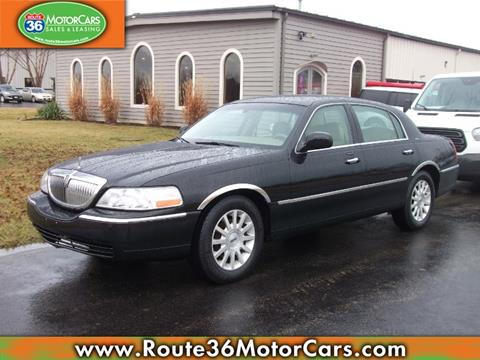 Used 2006 Lincoln Town Car For Sale In Ohio Carsforsale Com