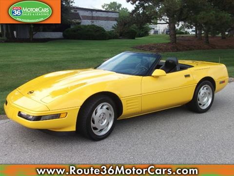 1994 chevrolet corvette for sale in ohio. Black Bedroom Furniture Sets. Home Design Ideas