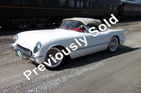 Used 1954 Chevrolet Corvette For Sale In Ohio Carsforsale Com