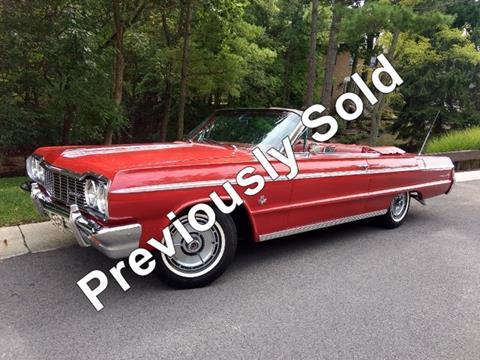 1964 Chevrolet Impala For Sale In Dublin Oh