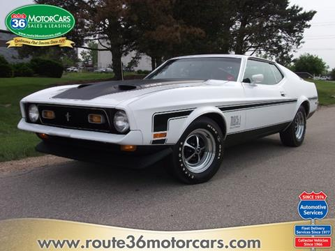 1972 Ford Mustang for sale in Dublin, OH