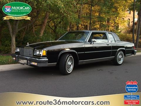 1985 Buick LeSabre Limited for sale at ROUTE 36 MOTORCARS in Dublin OH