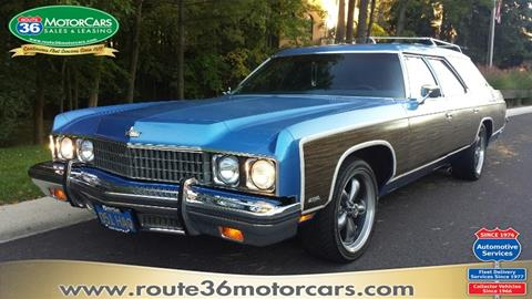 1973 Chevrolet Caprice for sale at ROUTE 36 MOTORCARS in Dublin OH