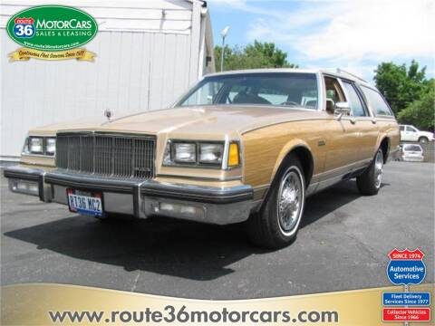 1987 Buick Electra Estate for sale at ROUTE 36 MOTORCARS in Dublin OH