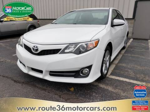 2013 Toyota Camry for sale at ROUTE 36 MOTORCARS in Dublin OH