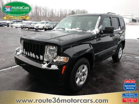 2009 Jeep Liberty Sport for sale at ROUTE 36 MOTORCARS in Dublin OH