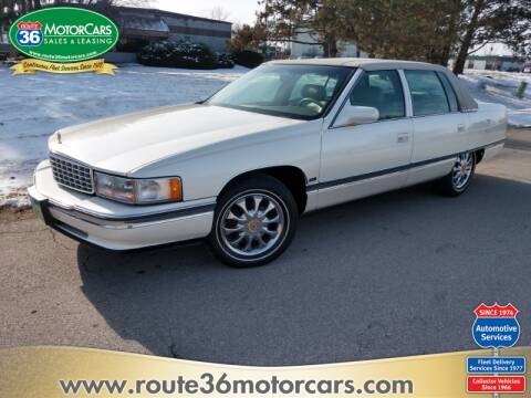 1996 Cadillac DeVille for sale at ROUTE 36 MOTORCARS in Dublin OH