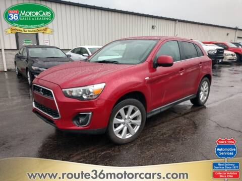 2014 Mitsubishi Outlander Sport SE for sale at ROUTE 36 MOTORCARS in Dublin OH